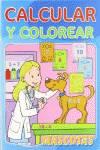 CALCULAR Y COLOREAR 4 TIT.