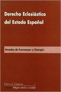 Derecho eclesiastico del estado español