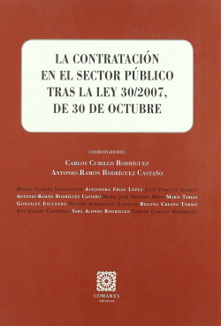 La contratacion en el sector publico tras la ley 30/2007, de 30 de octubre