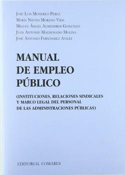 (2010).MANUAL DE EMPLEO PUBLICO.(DERECHO LABORAL)