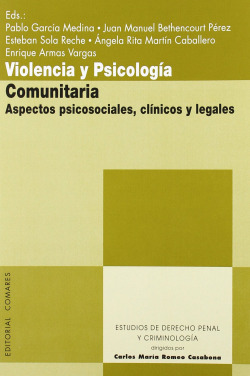 Violencia y psicologia comunitaria