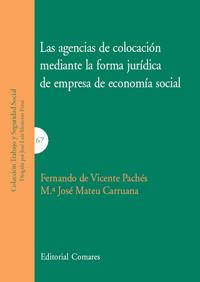 Las agencias colocación mediante la forma juridica de empresa de economia social