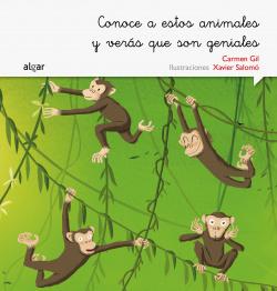 CONOCE A ESTOS ANIMALES Y VERÁS QUE SON GENIALES (MANUSCRITA)