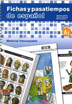 (A1).FICHAS Y PASATIEMPOS ESPAÑOL (ELE)/PARA EXTRANJEROS