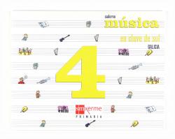 ANT/(G).(08).CADERNO EN CLAVE SOL 4º.PRIM.(MUSICA)