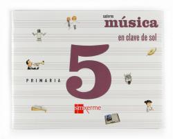 ANT/(G).(09).CADERNO MUSICA 5º.*EN GALEGO*-EN CLAVE DE SOL-