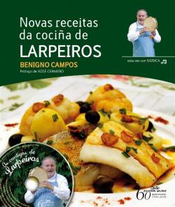 Novas receitas da cociña de Larpeiros + CD