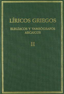 Líricos griegos ii