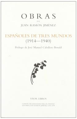 ESPAÑOLES DE TRES MUNDOS OBRAS J.R.JIMENEZ-38