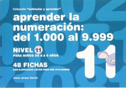 Aprender la numeración, del 1.000 al 9.999, nivel 11, 8 a 9 años