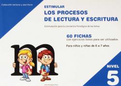 ESTIMULAR PROCESOS DE LECTURA Y ESCRITURA NÚMERO 5