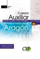 Cuerpo Auxiliar Escala Auxiliar Administrativa Comunidad Autonoma Aragon I