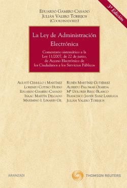 LEY DE ADMINISTRACION ELECTRONICA, LA 3ª ED
