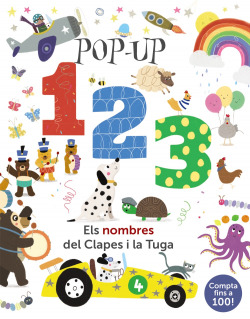 Pop-up 123. Els nombres del Clapes i la Tuga