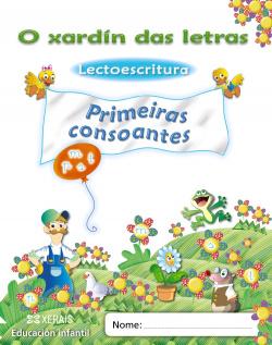 (G).(11).XARDIN LETRAS.PRIMEIRAS CONSOANTES.(4 ANOS)