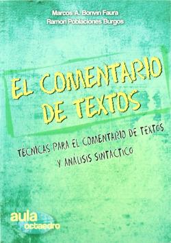 11.COMENTARIO TEXTOS.TECNICAS Y ANALISIS SINTACTICO.(AULA)