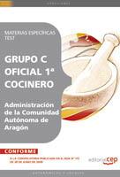 Oficial 1ª Cocinero Administracion Comunidad Autonoma Aragon Materias Especificas Test