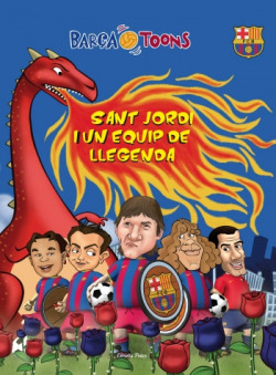 Sant Jordi i un equip de llegenda