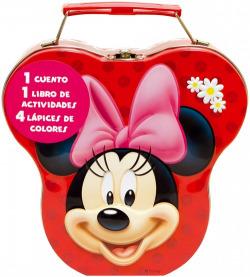 Cajita metálica Minnie Mouse