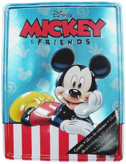 Mickey y sus amigos Caja metálica