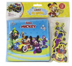Mickey. Libro de baño