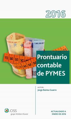 Prontuario contable para pymes 2016