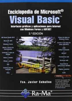 ENCICLOPEDIA MSOFT.VISUAL BASIC (3ª EDICION - 2013)