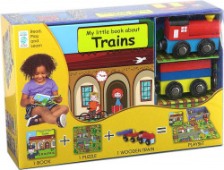 MY LITTLE BOOK ABOUT TRAINS