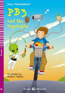 PB3 AND THE VEGETABLES. (+CD) (STG.2 A1)