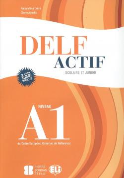 DELF ACTIF A1 BOOK +2CD SCOLAIRE ET JUNIOR