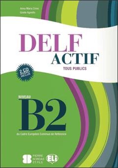 DELF ACTIF B2 TOUS BOOK +2CD