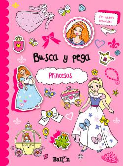 Busca y pega princesas