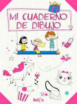 Mi cuaderno de dibujo rosa