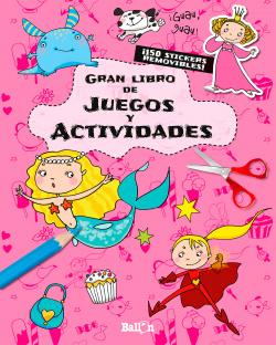 Gran libro de juegos rosa