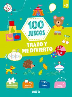 100 juegos - Trazo y me divierto +3