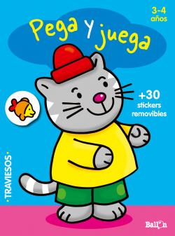 Pega y juega 3-4 años azul