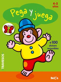 Pega y juega 4-5 años verde