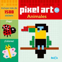 COLOREA ANIMALES.(PIXEL ART)
