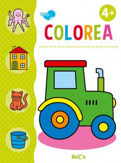 COLOREA TRACTOR +4 AÑOS