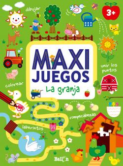 MAXI JUEGOS GRANJA +3