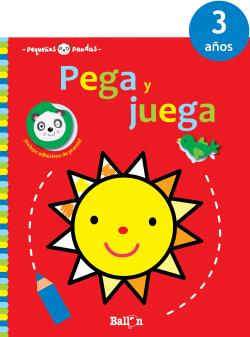 PEGA Y JUEGA SOL 3 AÑOS (ROJO)
