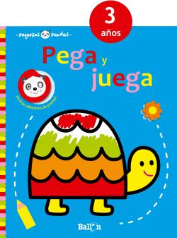 PEGA Y JUEGA TORTUGA 3 AÑOS