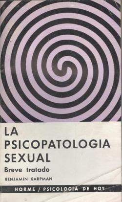 Psicopatología sexual