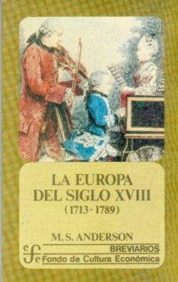 La Europa del siglo XVIII, 1713-1789