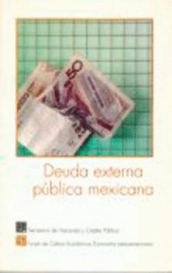 Deuda externa pública mexicana