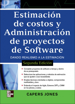 ESTIMACION COSTOS Y ADMINISTRACION PROYECTOS SOFTWARE