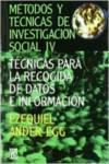 METODOS TECNICAS INVESTIGACION 4 SOCIAL