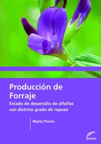 PRODUCCION DE FORRAJE