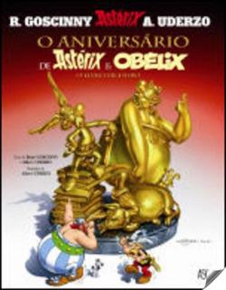 Aniversario de asterix & obelix: livro de ouro