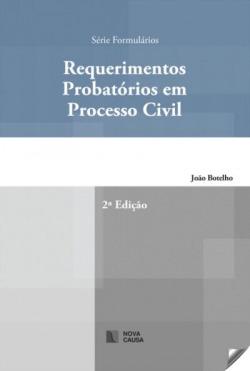 requerimentos probatorios em processo civil